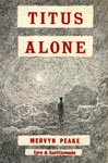 Titus Alone, 1st edition, 1959 Mervyn Peake's own cover design