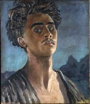 Self-portrait, submitted to the Royal Academy in 1931. Now hangs at the National Portrait Gallery